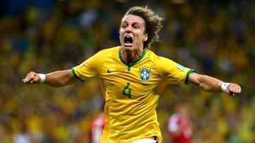 David Luiz susţine că GENELE superioare l-au ajutat în meciul cu Columbia!