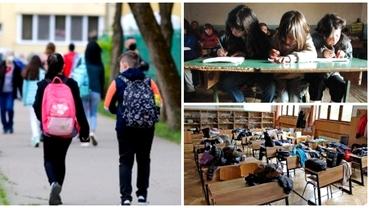 Învăţământul simultan, fenomen îngrijorător în România. Peste o sută de mii de elevi vor învaţa