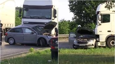 O femeie și un copil din România, morți într-un accident produs la Ruse. Mașina lor, zdrobită de un TIR
