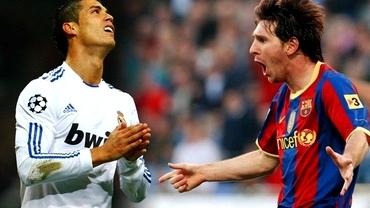 Ronaldo şi Messi, plus 869 de zile care îi fac egali