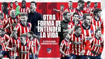 La Liga, etapa a 38-a (ultima). Atletico Madrid e campioana Spaniei! Luis Suarez, în lacrimi: