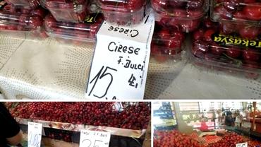 Reportaj. Cât de românești sunt căpșunele și cireșele din piață? Pregătiți-vă să fiți dezamăgiți