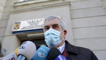 Călin Popescu Tăriceanu s-a prezentat la sediul DNA în dosarul mitei de 800.000 de dolari