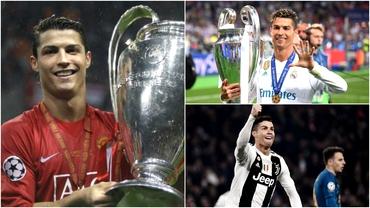 Cristiano Ronaldo a egalat recordul de meciuri jucate în Liga Campionilor! Bornele legendare ale lui CR7. Video