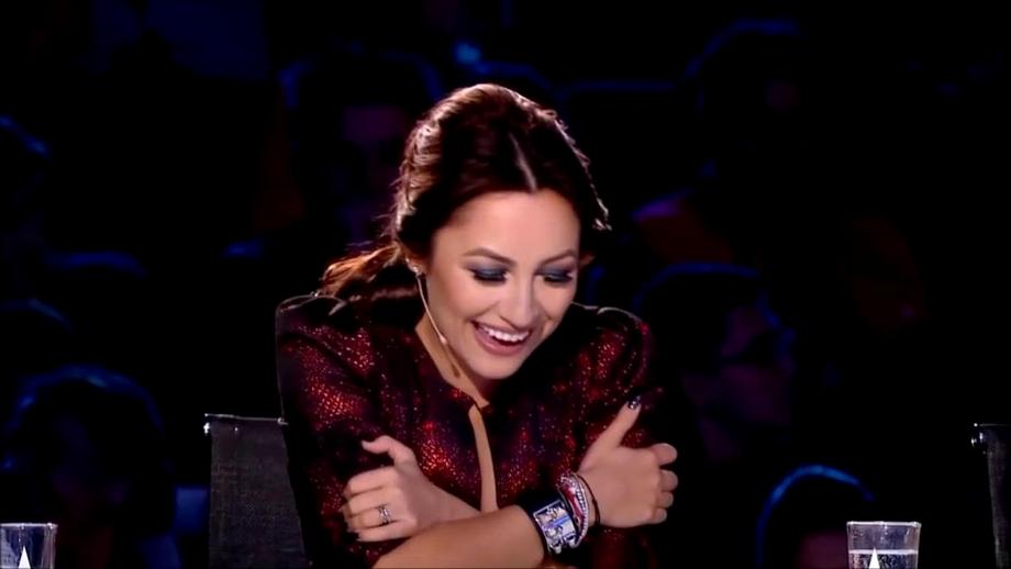"""Andra, întrebare șoc către un concurent la Românii au Talent: """"Mă, tu ai numărul meu de telefon?"""""""