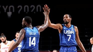 SUA ia aurul olimpic la baschet masculin! Al patrulea titlu consecutiv vine după o finală echilibrată cu Franța