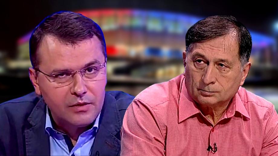 """Ion Crăciunescu nu a rezolvat problemele cu Vali Moraru: """"A fost puțin obraznic! Are o frustrare cu mine!"""""""
