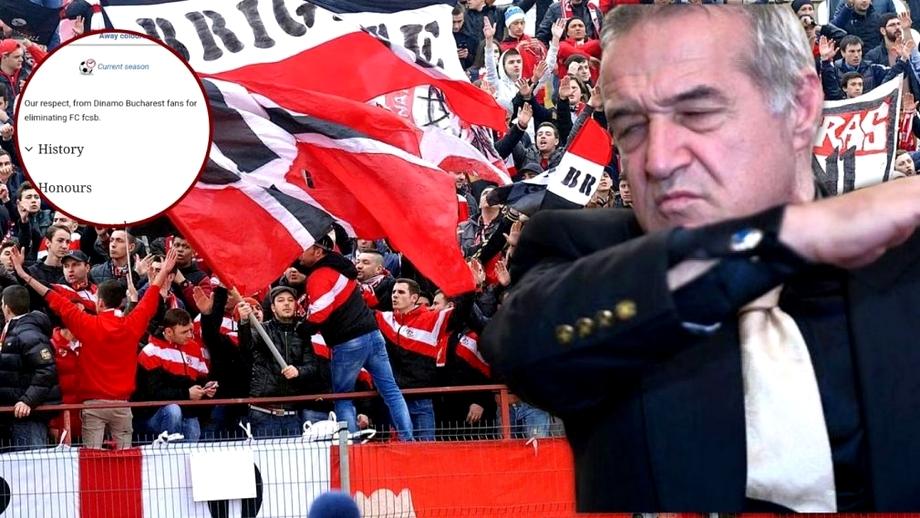 Aroganța fanilor dinamoviști după eliminarea FCSB-ului! Ce au scris pe pagina lui Șahtior Karagandy. Foto