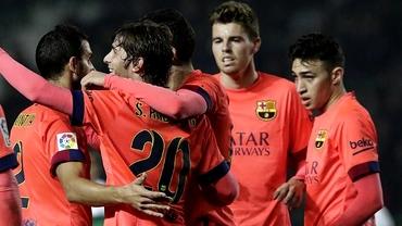 Cupa Regelui: Barcelona SHOW fără Messi şi Neymar! Catalanii, derby de 5 stele în sferturi!
