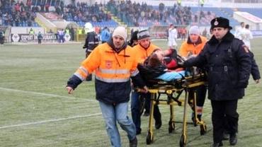 Ciprian Dinu, suspendat drastic după ce i-a provocat o accidentare horror lui Roman