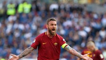 Fanii Romei îi pregătesc o coregrafie specială lui De Rossi în derby-ul cu Lazio