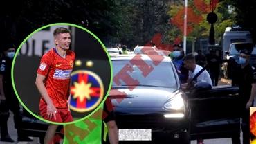 Jandarmii l-au pus pe Florin Tănase să coboare din mașină! Ce căutau oamenii de ordine înaintea derby-ului FCSB – Dinamo. Foto exclusiv