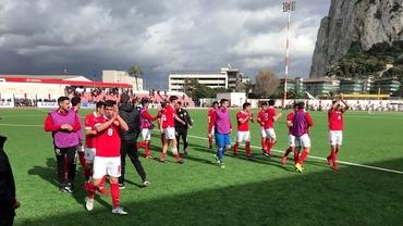 Zi istorică în Gibraltar! Micuţa naţională a câştigat primul meci de când este membru FIFA