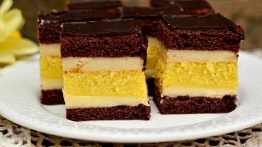 Rețetă de weekend: Prajitura Budapesta, un desert delicios cu glazură de ciocolată