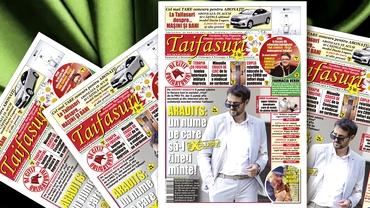 """Revista Taifasuri 848! Editorial Fuego! Exclusiv: interviu cu """"Ștefan"""" din serialul """"Vlad"""", Andrei Aradits! Vedete, rețete, concurs... Surprize!"""