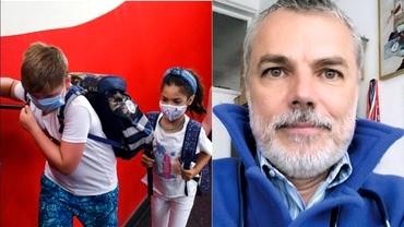 """Medicul Mihai Craiu, lămuriri despre cazurile de Covid-19 din şcoli: """"Arată doar circulație comunitară"""