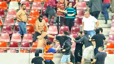 Foto. Incidentele de la derby, în presa italiană!