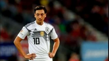 Mesut Ozil se retrage de la naţionala Germaniei!