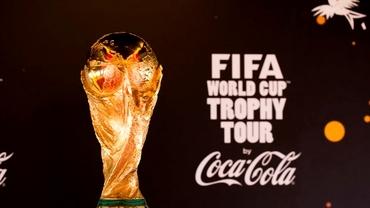 Trofeul Cupei Mondiale a ajuns la Bucureşti. Cînd îl pot admira fanii fotbalului din România