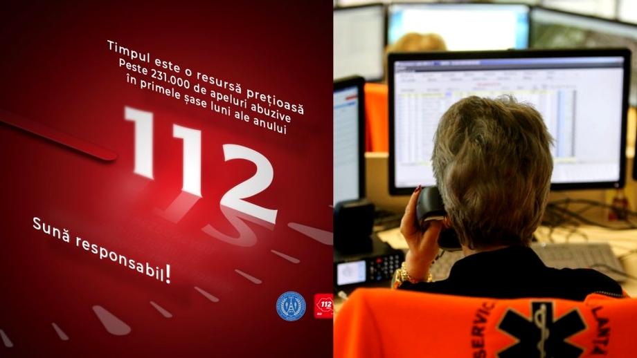 O persoană a sunat de 22.000 de ori la 112, în numai 6 luni. Sute de mii de apeluri abuzive în 2021, raportate de STS
