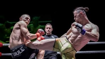"""Secretul lui Bogdan Grad, înainte de Blood Fight League: """"În timpul luptei, la adversar văd doar anatomia sa ca om, nu îi percep expresia facială"""""""