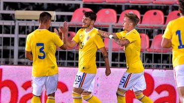 """România U21, în drum spre Euro 2023. Remiză în amicalul cu Georgia, dar """"tricolorii"""" sunt optimiști: """"Avem timp să creștem"""""""