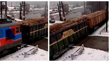 Video. Fake news-ul vagoanelor de lemn, cu zeci de mii de distribuiri, demontat de RomSilva.