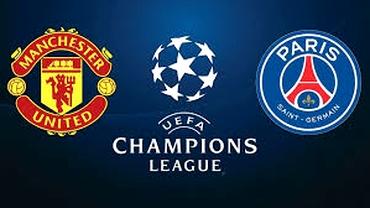 Sport la TV. Cine transmite Manchester United - PSG, AS Roma - FC Porto, optimile din Champions League. Programul transmisiunilor sportive de marți, 12 februarie