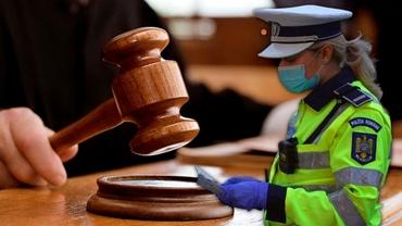Amenzile poliției, contestate cu un simplu formular. Contravenienții nu vor mai trebui să meargă la tribunal