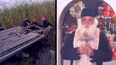 Preotul Alexandru Argatu, fiul marelui duhovnic Ilarion Argatu, a murit într-un accident de mașină