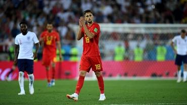 Adnan Januzaj, omul meciului Anglia – Belgia 0-1 la CM 2018