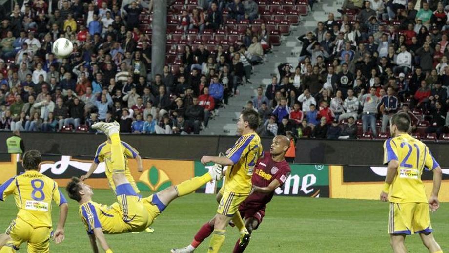 Ceahlăul - CFR Cluj 0-0. Ze Maria, debut NUL în Liga 1
