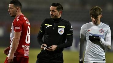 Sebastian Colţescu, acuzat de PCH după Dinamo - FCSB 0-1: