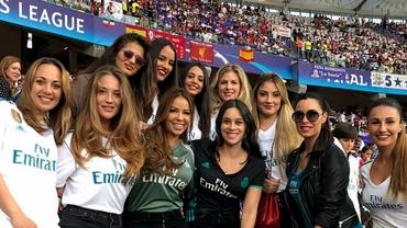 Ele sunt iubitele şi soţiile starurilor de la Real Madrid! Cu cine au sărbătorit titlul Sergio Ramos, Gareth Bale sau Eden Hazard. Foto