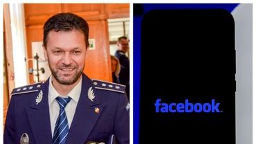 Bărbat din Câmpulung care amenința cu sinuciderea pe Facebook, salvat de șeful Poliției. Gestul comisarului
