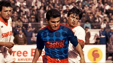 """30 de ani de la ultimul meci jucat de Gică Hagi la Steaua. """"Regele"""" şi-a luat adio înainte de plecarea la Real Madrid cu un gol marcat la Plopeni!"""