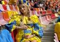 Una dintre cele mai frumoase femei din lume, prezentă pe Arena Națională la meciurile de la EURO 2020. Foto