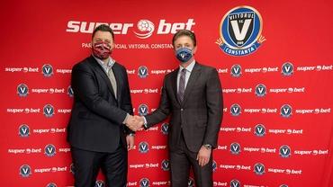 Superbet, noul sponsor al lui Viitorul Constanța: