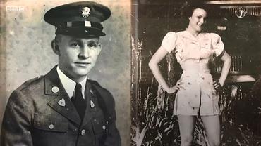 """""""Nu o să-mi ieși niciodată din inimă"""". Doi foști iubiți s-au revăzut după 75 de ani. El era soldat american, ea o localnică, din Franța"""
