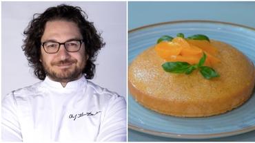 Rețeta de prăjitură cu mălai a lui chef Florin Dumitrescu. Un desert de post, delicios și ușor