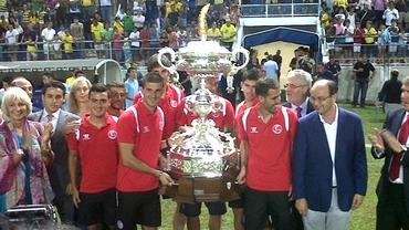 VIDEO / Rusescu, primul gol şi primul trofeu la Sevilla