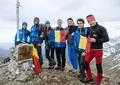 Nu văd, dar vor să privească lumea de sus! La propriu! Doi sportivi români cu deficiențe de vedere se pregătesc să urce pe Mont Blanc