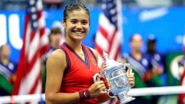 Emma Răducanu, milionară la doar 18 ani. Câți bani îi aduce victoria de la US Open
