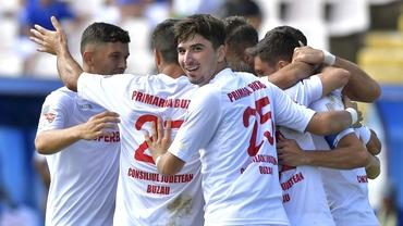 Renașterea! FC Buzău se luptă la promovarea în Liga 1 după ce era amenințată cu desființarea: