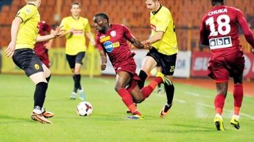 CFR Cluj şi FC Braşov, înfrîngeri identice în amicale