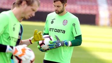 CFR Cluj scapă de portari! Vâtcă e out, Fernandez e în negocieri cu Sepsi.  Dan Petrescu aduce alt goalkeeper. FANATIK confirmat