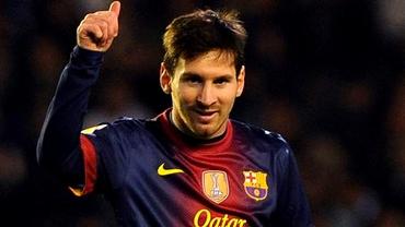 SUPER FOTO: Vezi cum arăta Messi cînd a cîştigat primul său trofeu!