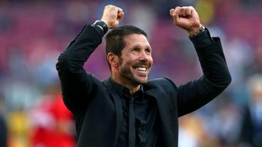 VIDEO / FAZA serii! Diego Simeone s-a bucurat ca un NEBUN la golurile lui Atletico în poarta Realului!