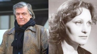 Ce a apărut la mormântul primei soții a lui Florin Piersic. Tatiana Iekel a murit acum patru ani