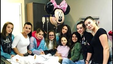 FOTO. Larisa Iordache a fost operată! Prima reacţie a gimnastei